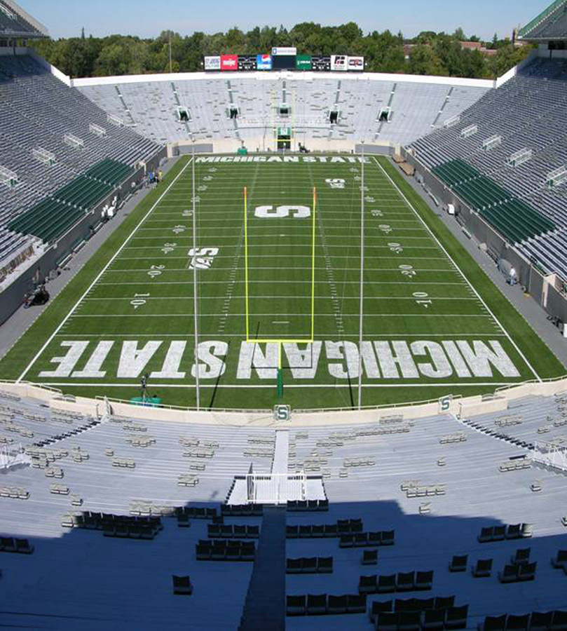 Spartan Stadium Named Collegiate Football Field Of The Year By Sports Turf Managers Association Michigan State University Athletics