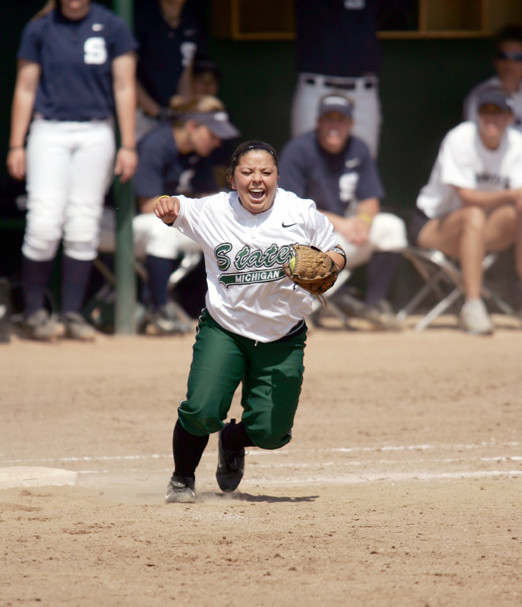 bad5b3a958793 Senior Janette Hurtado finished her career by climbing to 20th on MSU s  all-time hit