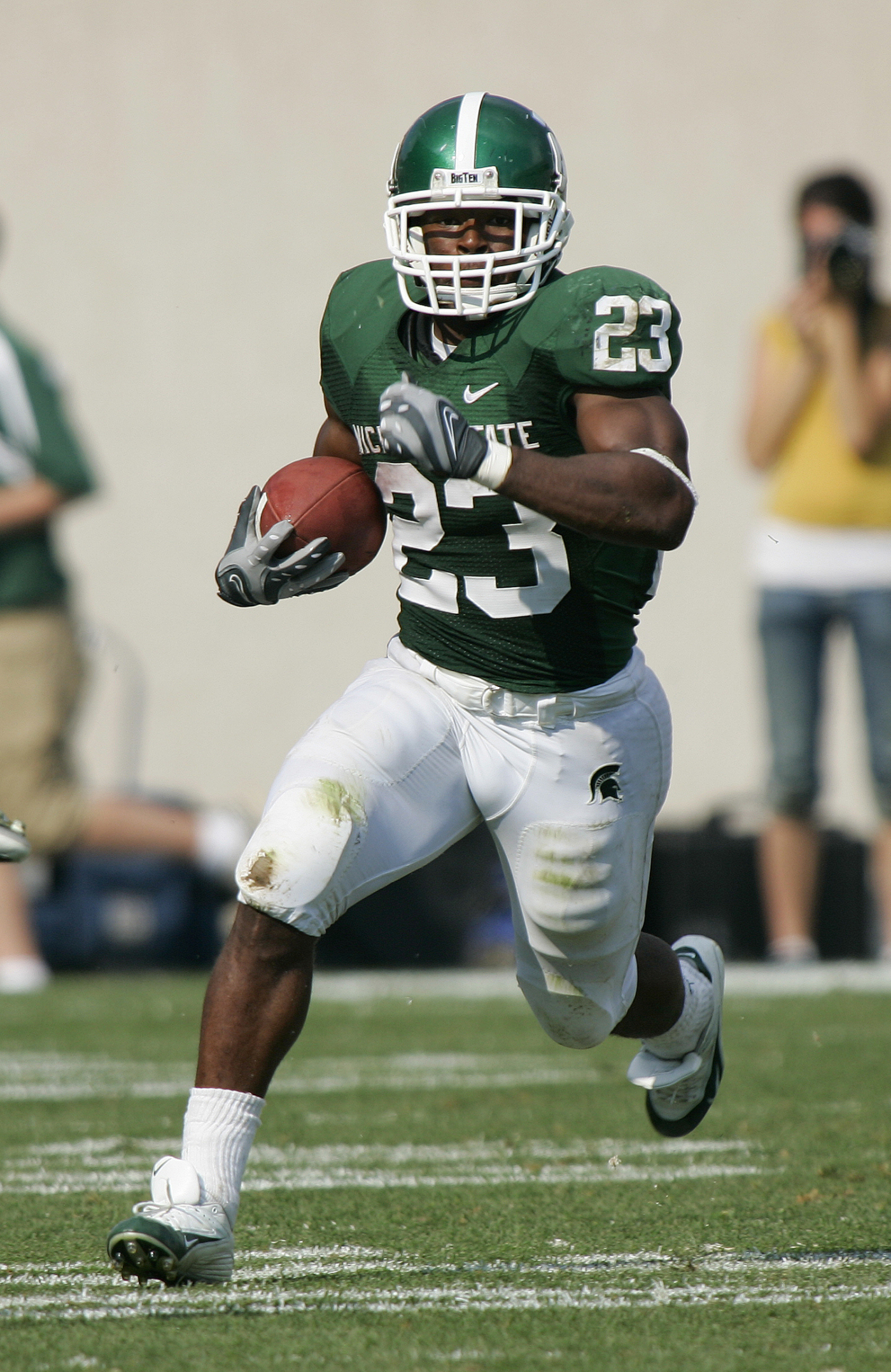 Homecoming 2007: Spartans, Hoosiers Battle For The Old Brass