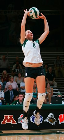 Lauren O'Reilly Tabbed Volleyball's Big Ten Player Of The Week - Michigan State University Athletics