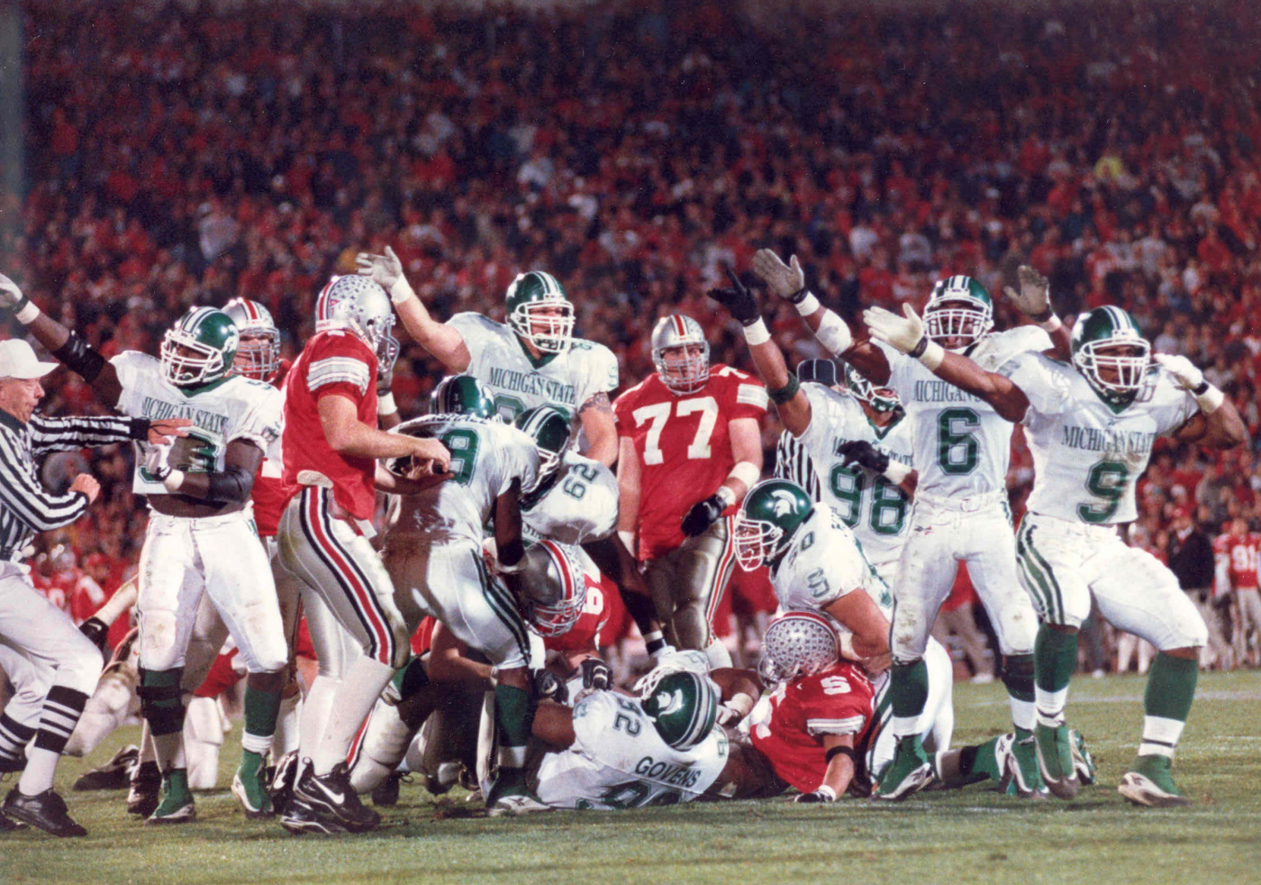 Ten Years Later A Look Back At Michigan State S Upset Win