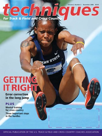 GETTING IT RIGHT: Error correction in the long jump