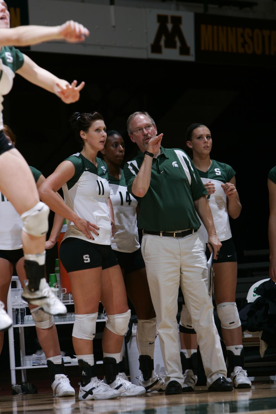 Msu Volleyball S Russ Carney Promoted To Associate Head Coach Michigan State University Athletics