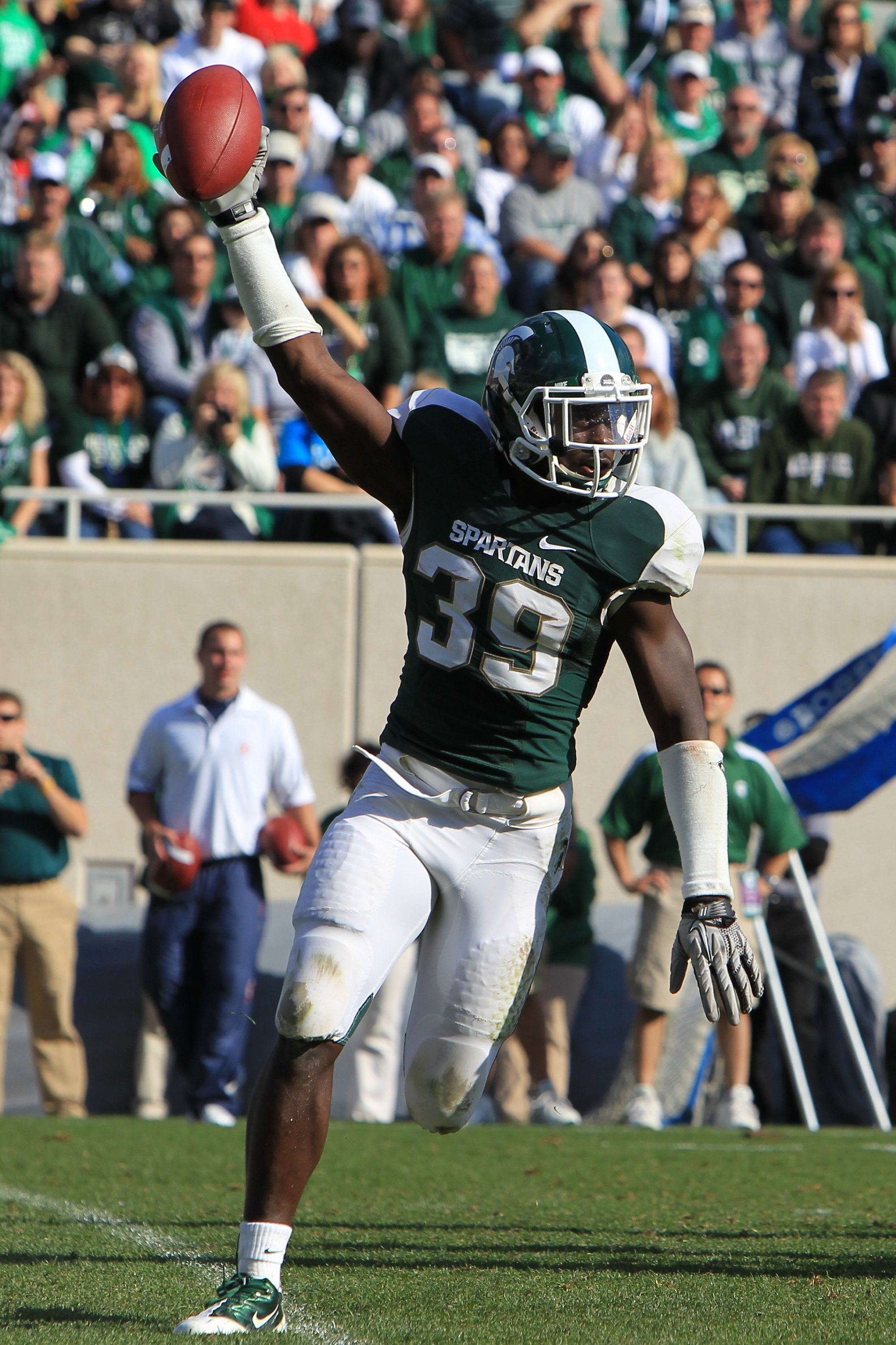 Grinz on Green Blog - Michigan State University Athletics
