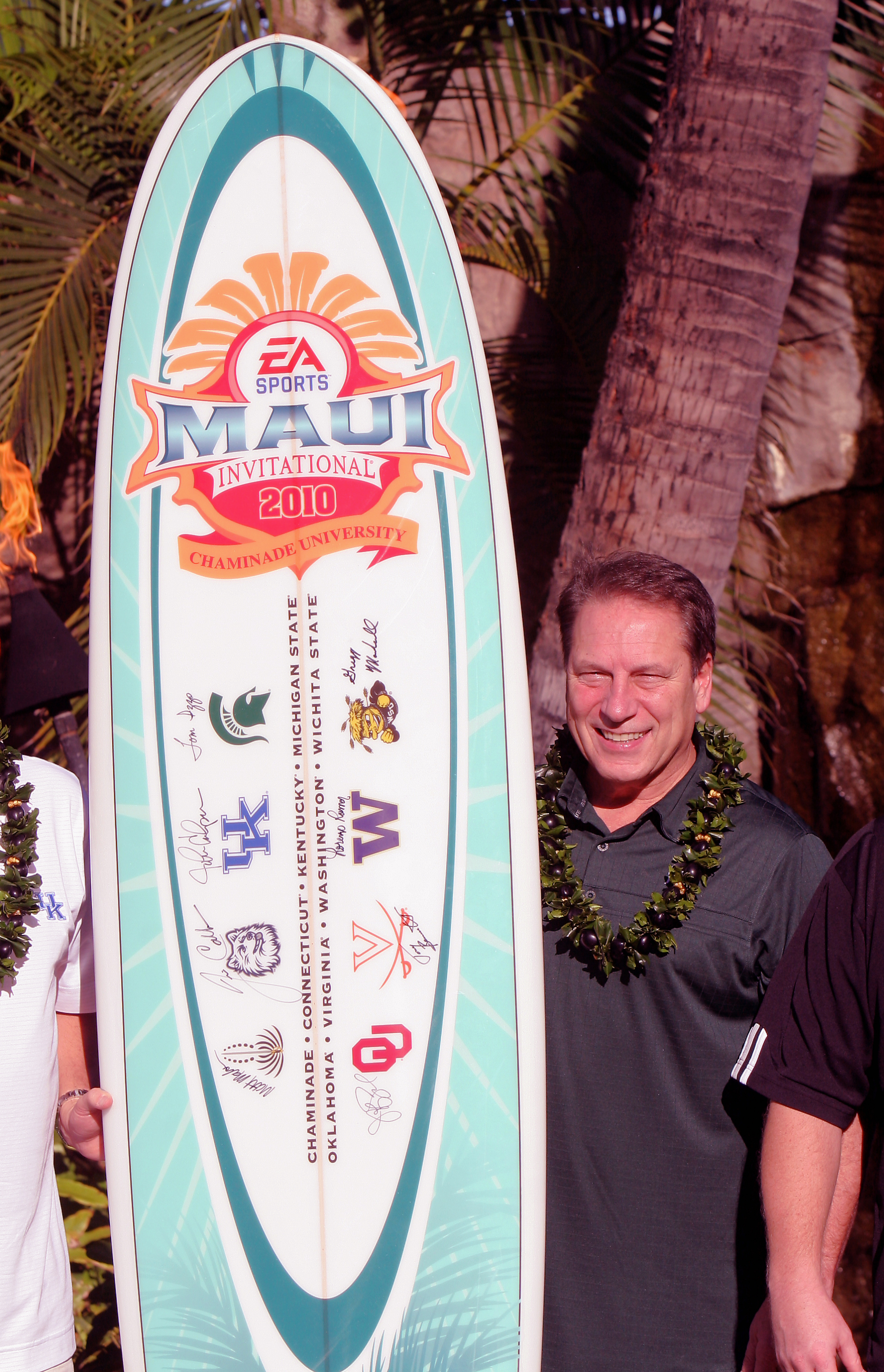 Tom Izzo leads MSU against Chaminade in the Maui Invitational opener.