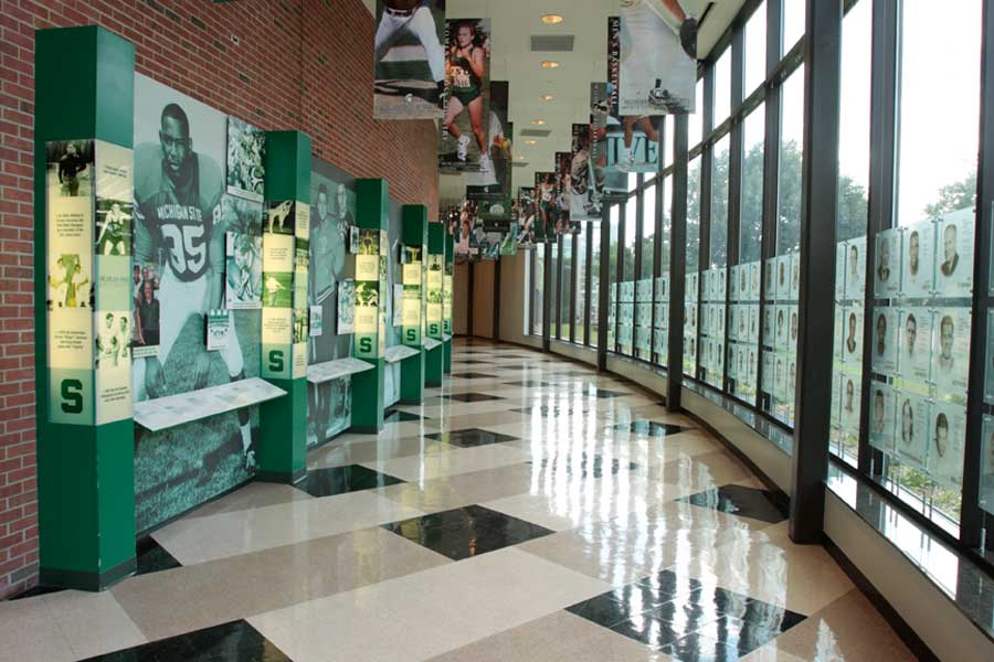 michigan state athletics 2010 hall of fame class michigan state