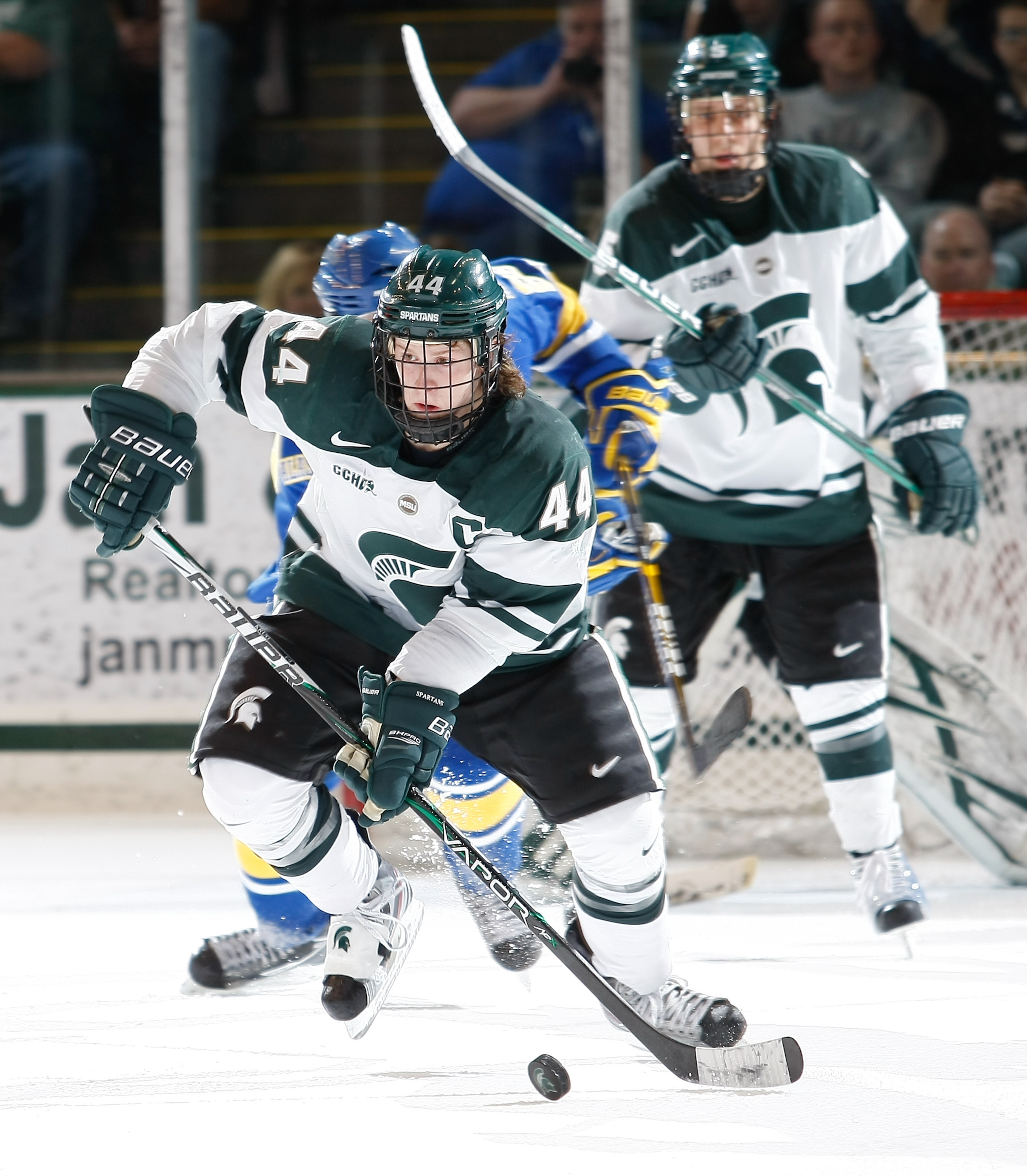 fa865eecb Torey Krug is challenging for the league scoring title. Men's Ice Hockey ...
