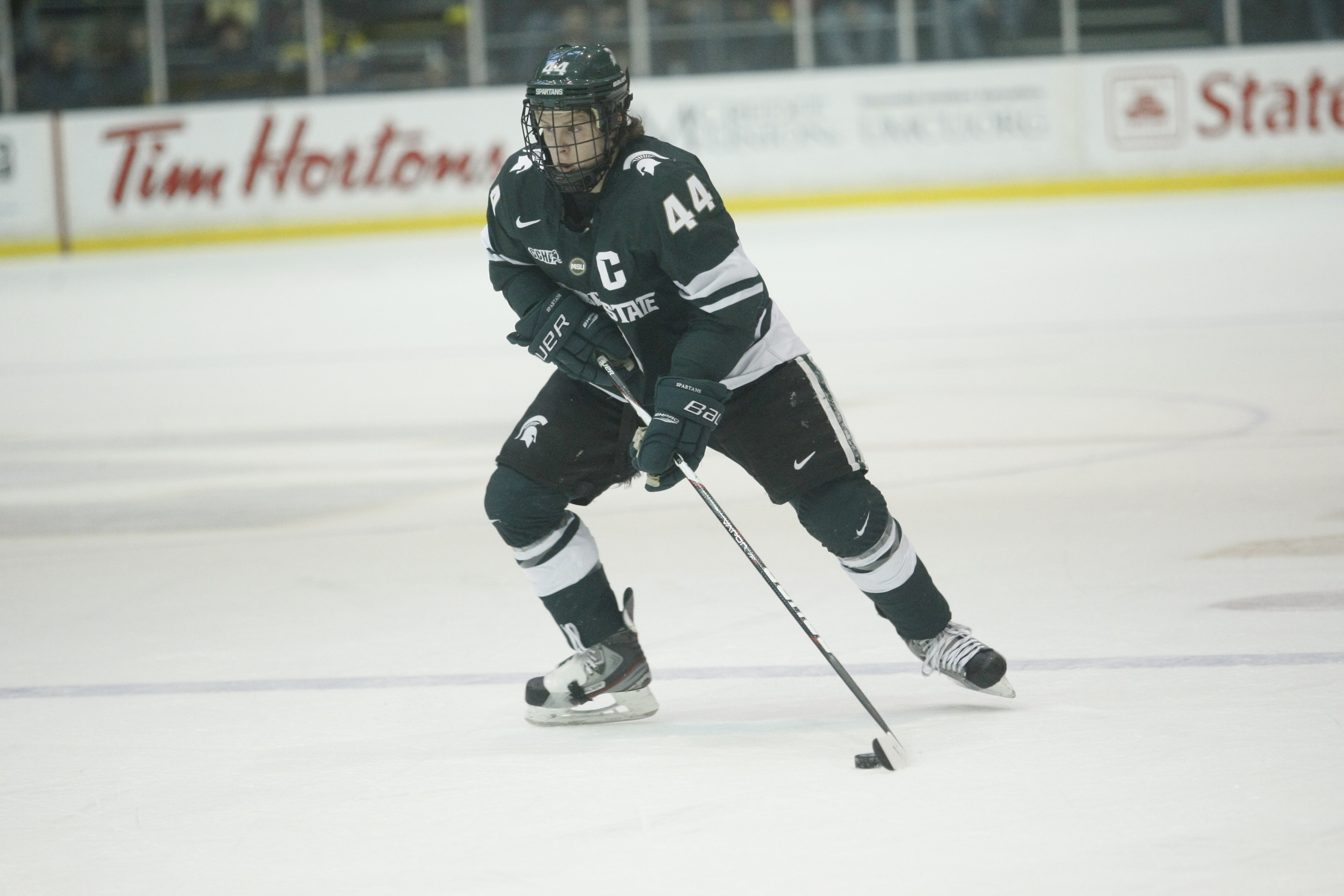 Krug Signs Professional Contract With Boston Bruins Michigan State