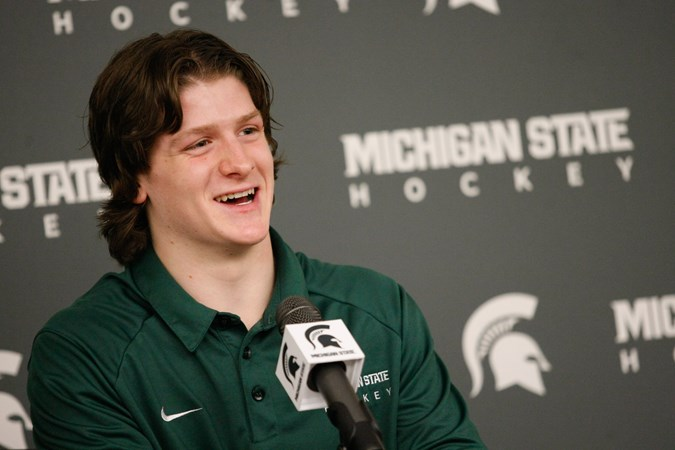 Neil S Notebook A Second Look At Krug S Signing Michigan State University Athletics