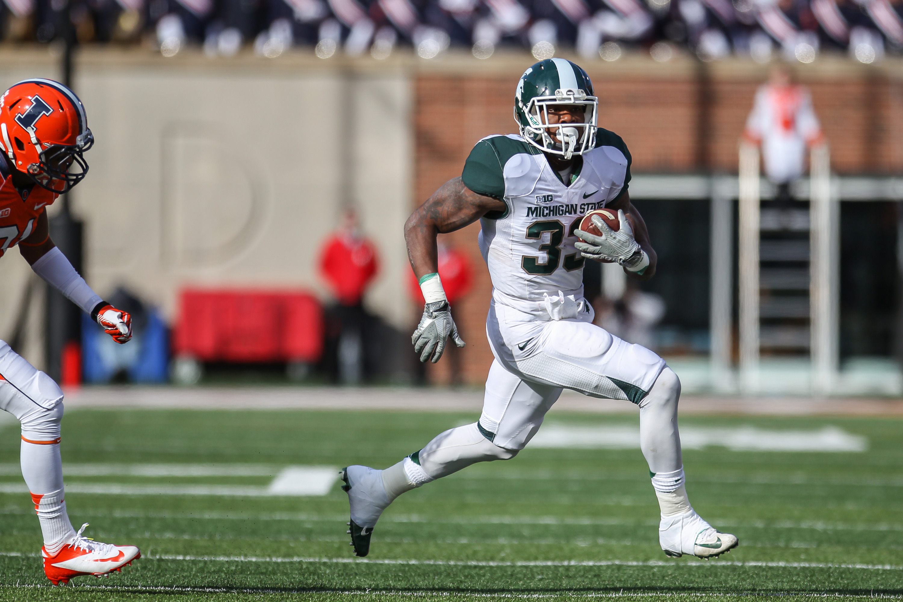 No  24 Spartans, No  23 Wolverines Ready to Battle for Paul