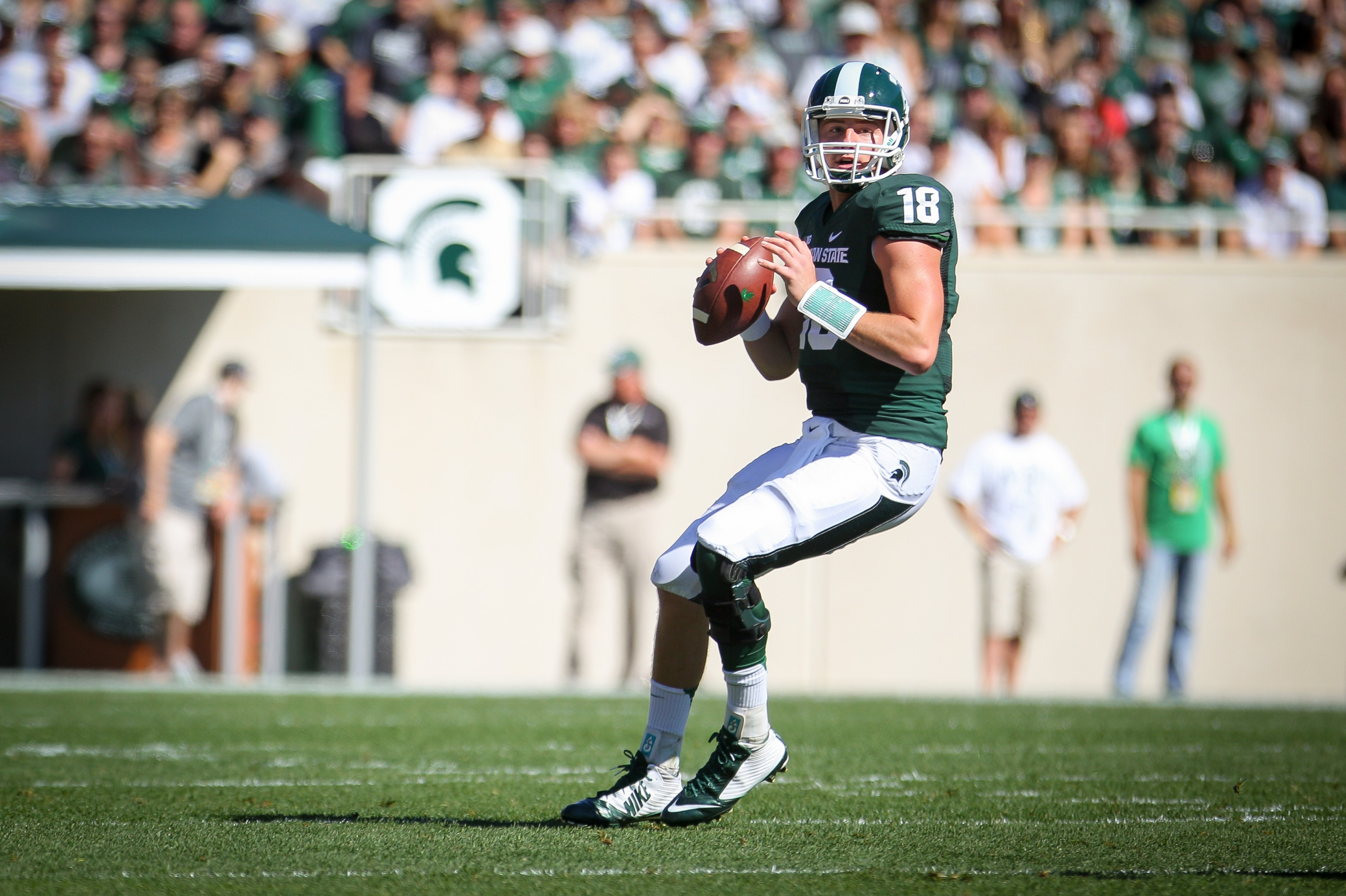 Connor Cook leads the Big Ten and ranks No. 3 in the NCAA Football Bowl d436a995f