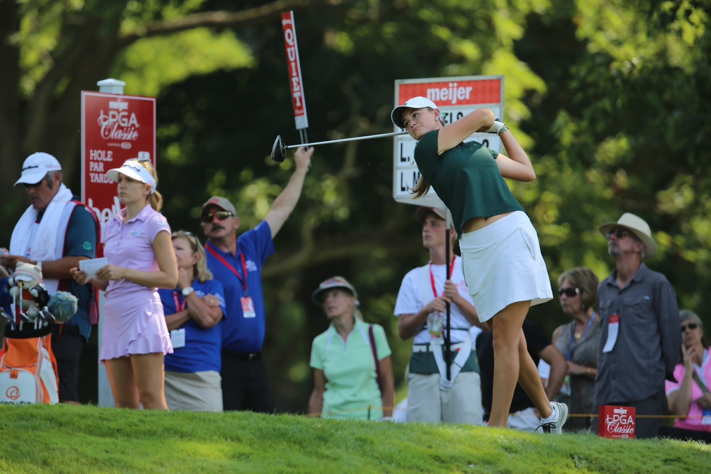 McPherson Finishes 7-Over at Meijer LPGA Classic - Michigan State