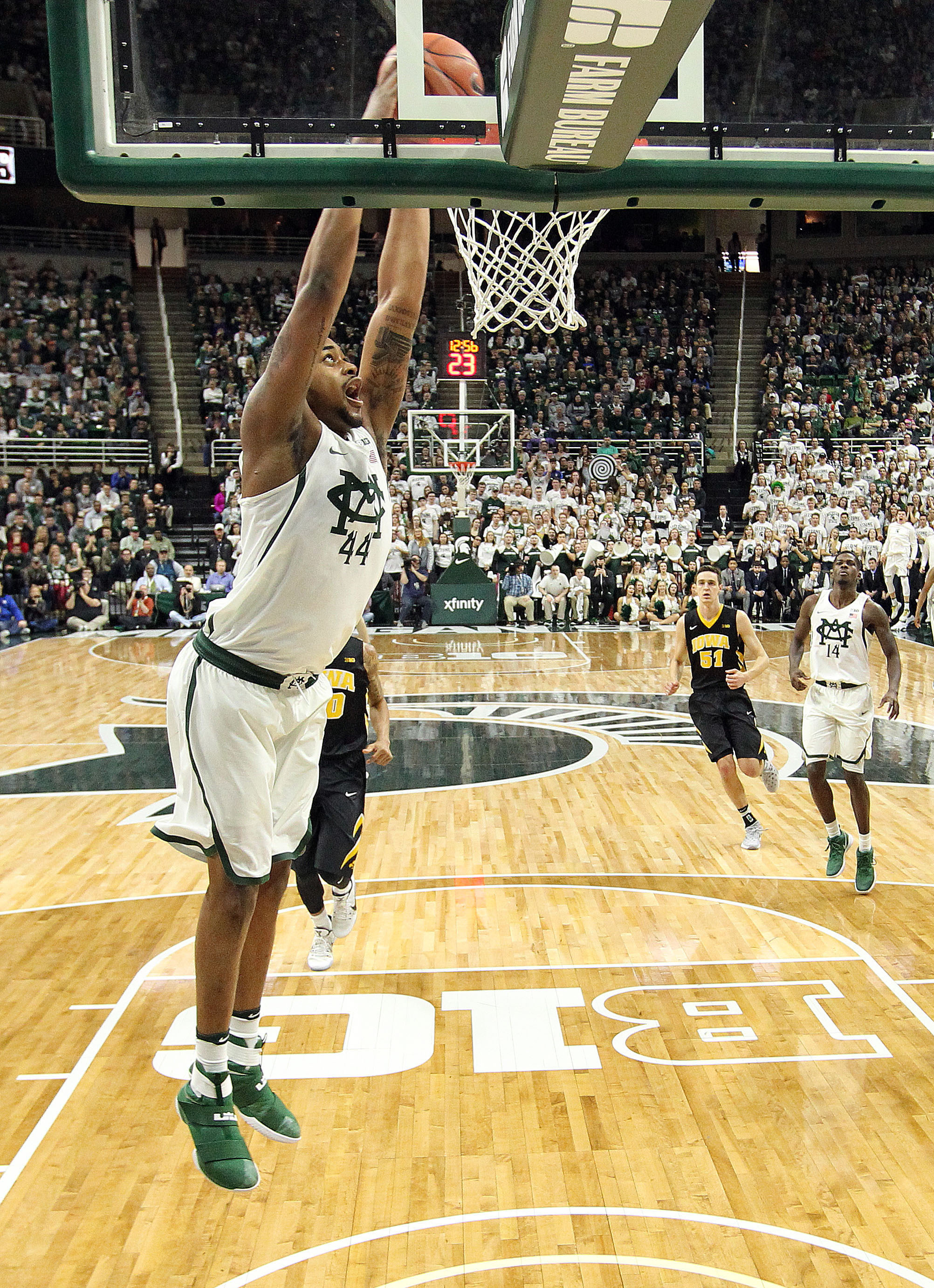 Grinz On Green Spartans Motivated By Alums Michigan State University Athletics