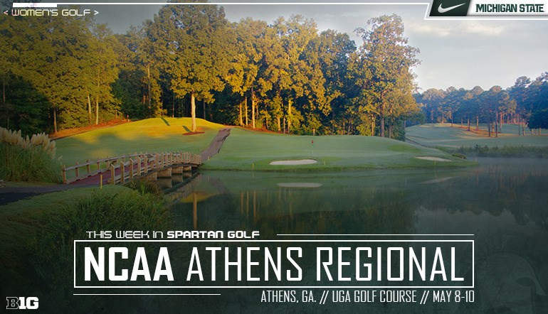 f856bb3d32b Spartans Set to Compete in NCAA Athens Regional - Michigan State University  Athletics