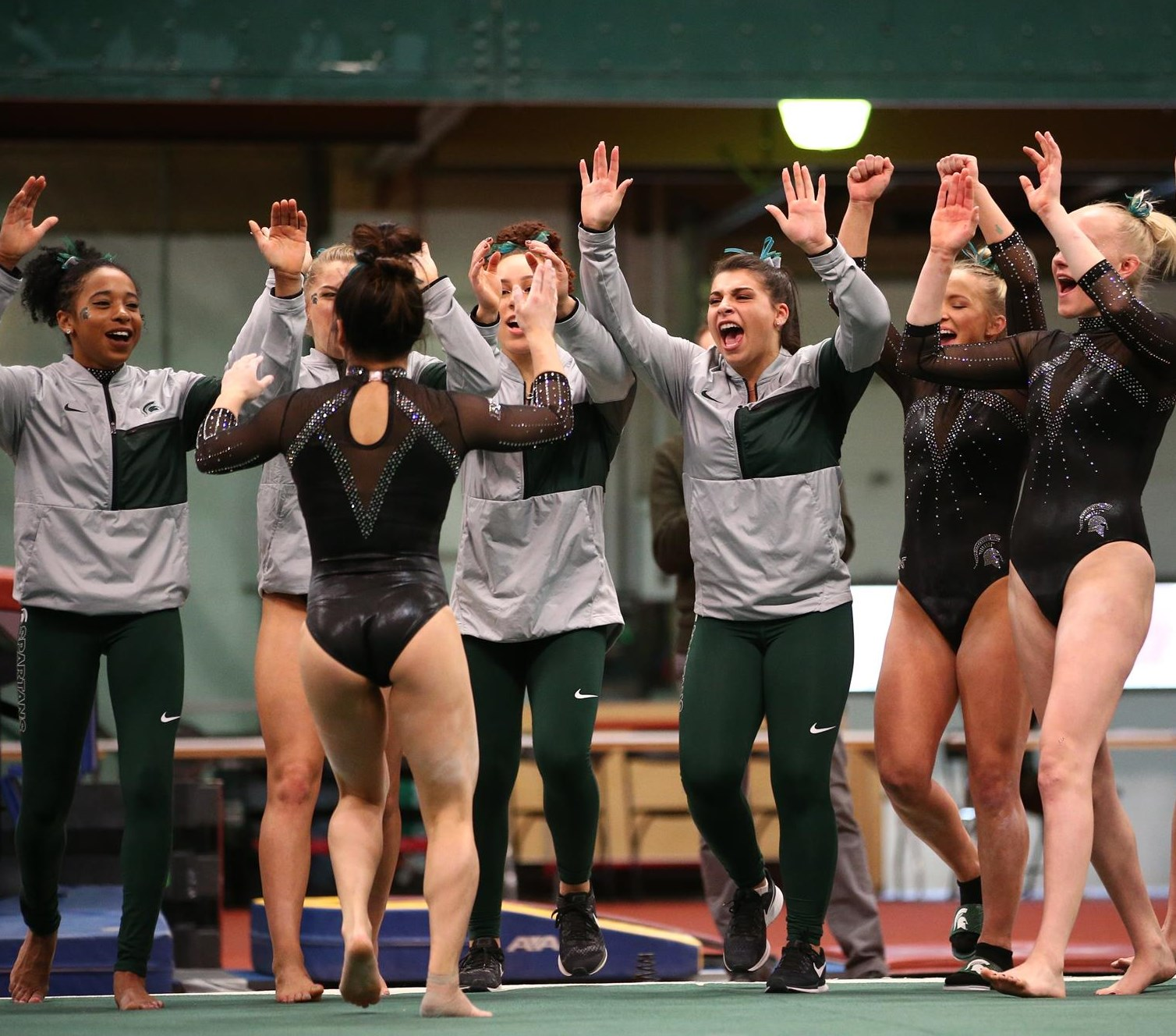 50927342f312 Gymnastics Welcomes Six Newcomers for 2019 Season - Michigan State ...