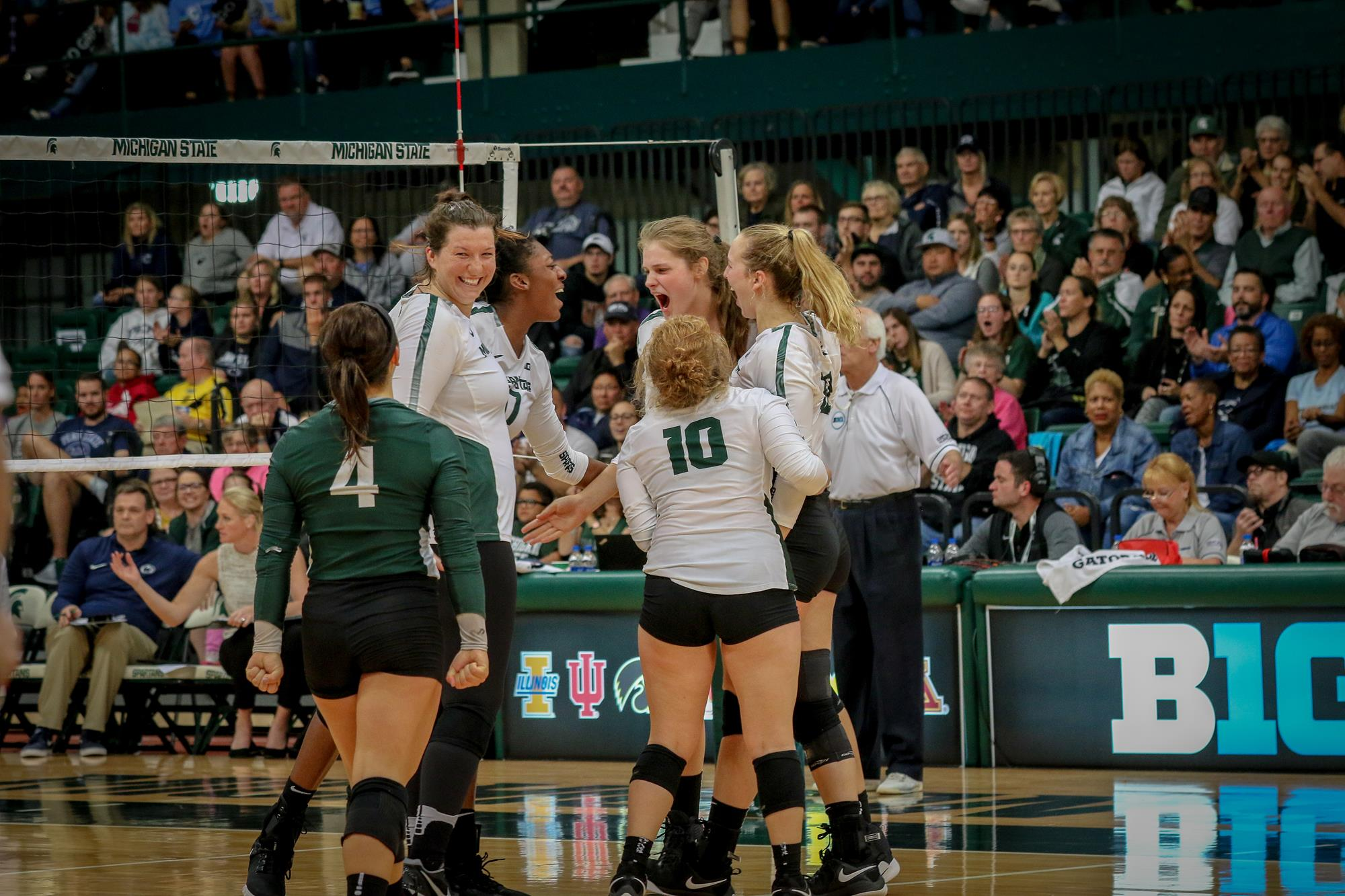 Spartans Host Ohio State Iowa This Week Michigan State University Athletics