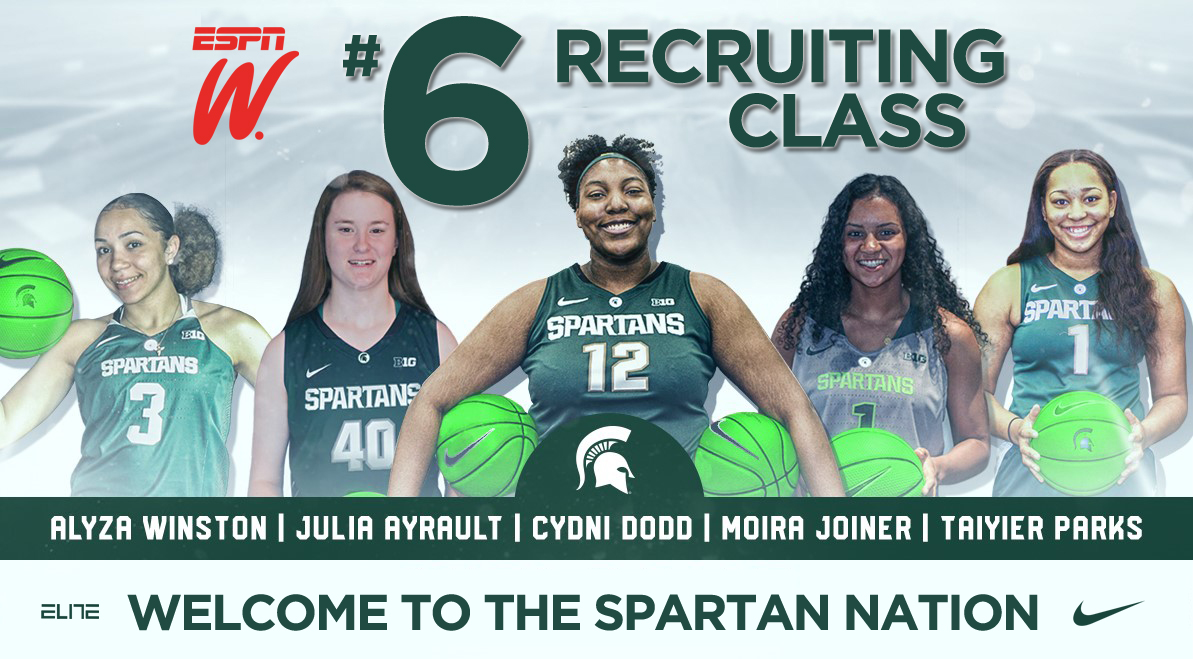 Spartan Women s Basketball Announces 2019 Recruiting Class ... db70f6e981