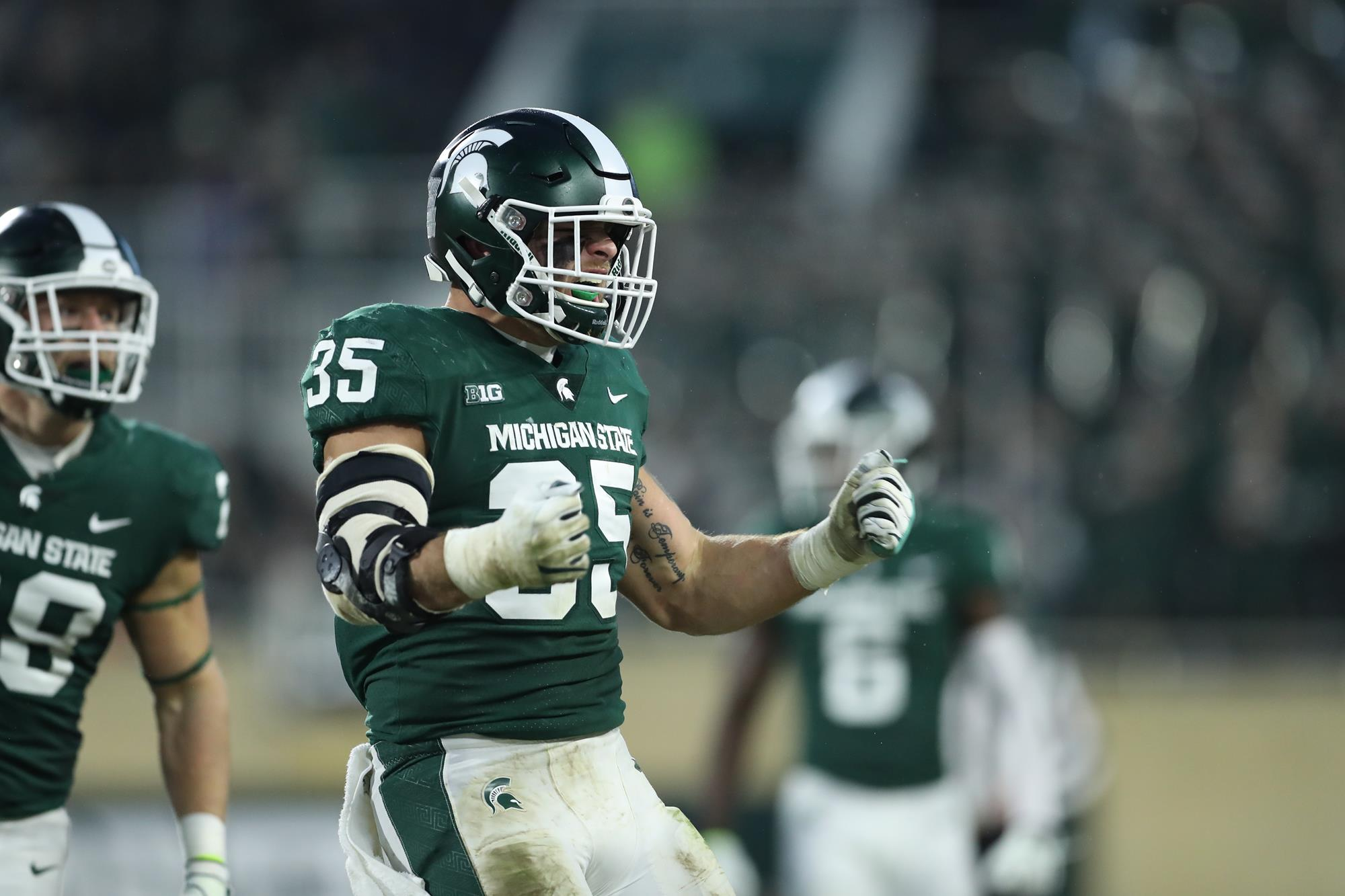 Beyond Pros And Cons Of Redshirting >> Post Game Quotes Rutgers Michigan State University Athletics