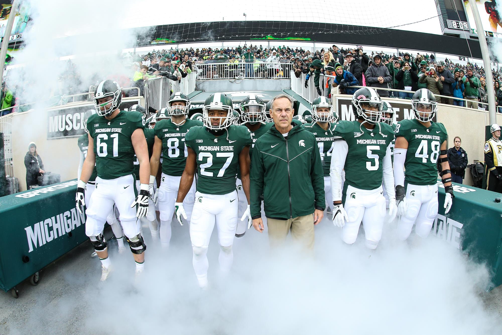 2007 Michigan State Football Roster - Michigan State