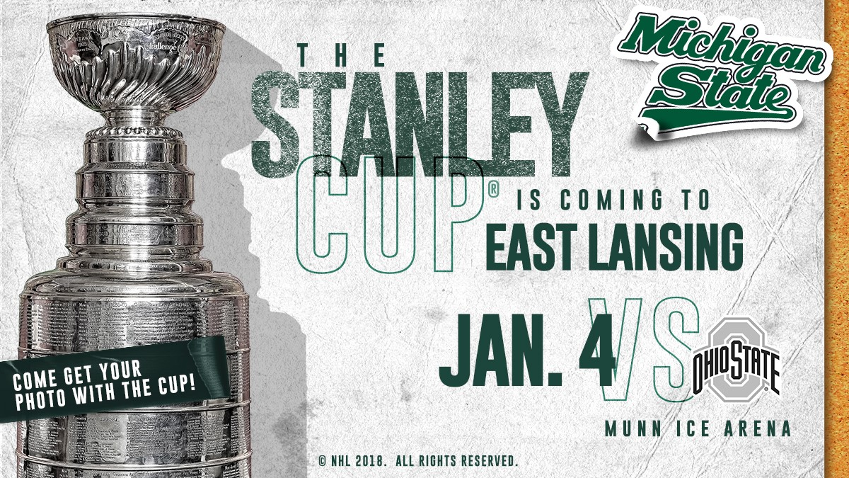 The Stanley Cup® to Make Appearance at Munn on January 4 - Michigan ... 27b1474f9