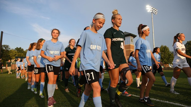 8ccbcfaf54b Presented by  Registration Open for Spartan Men and Women s Soccer Camp