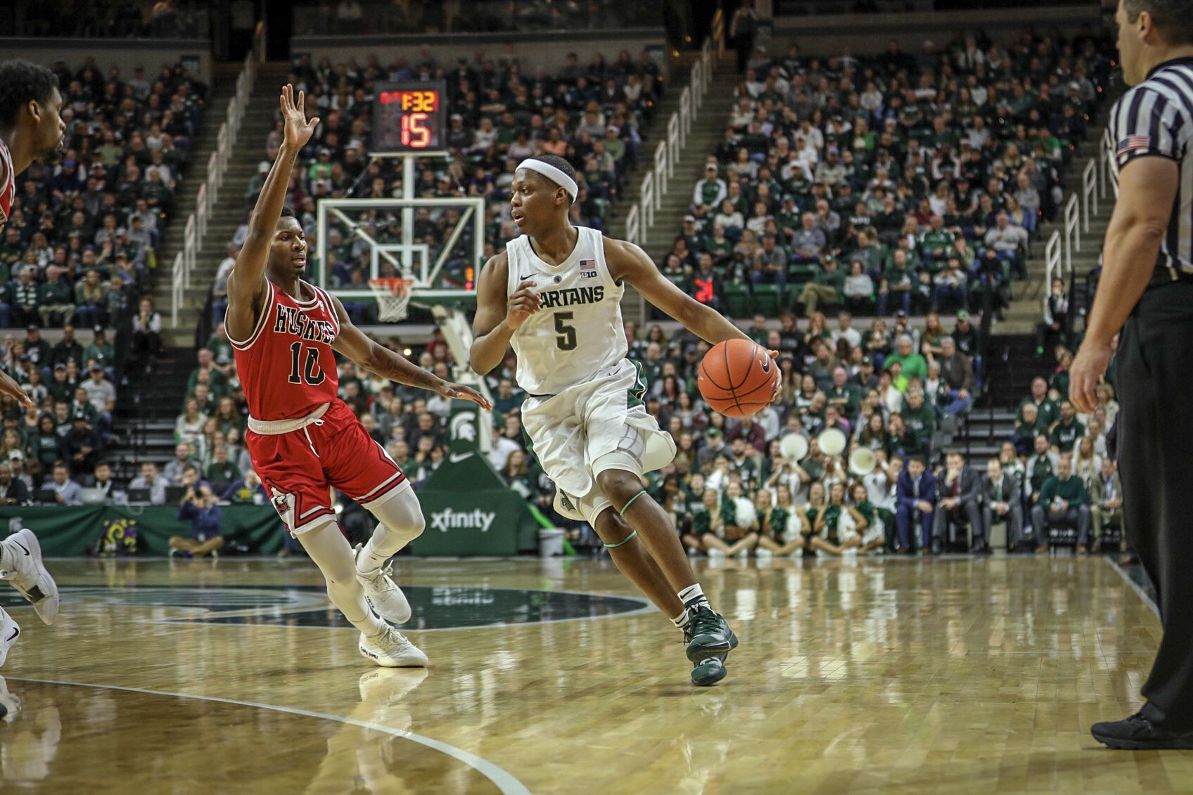 Michigan State University Athletics Official Website Basketball Football Golf Soccer Tennis