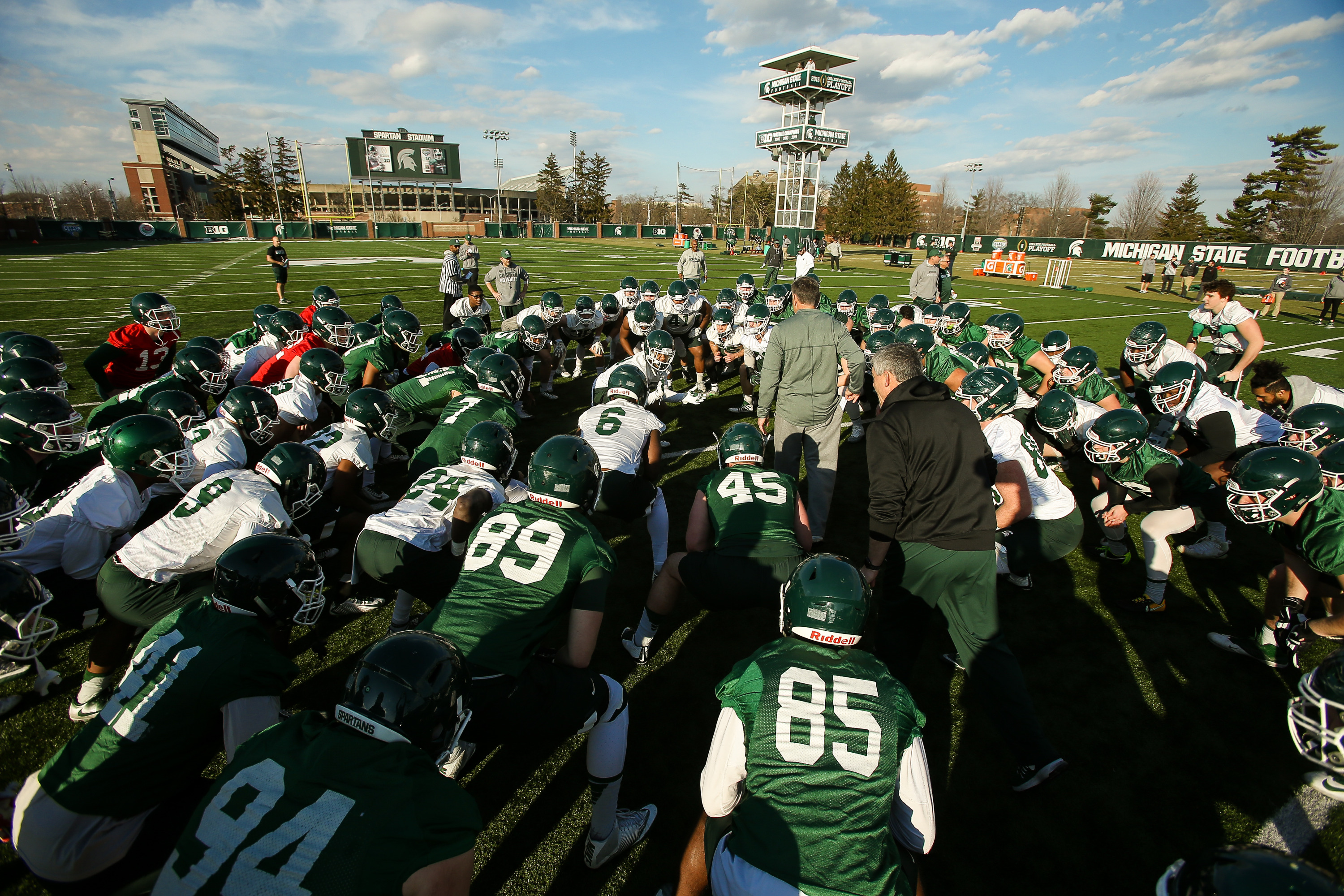 b35197a7f00 Spartan Spring Football Preview - Michigan State University Athletics