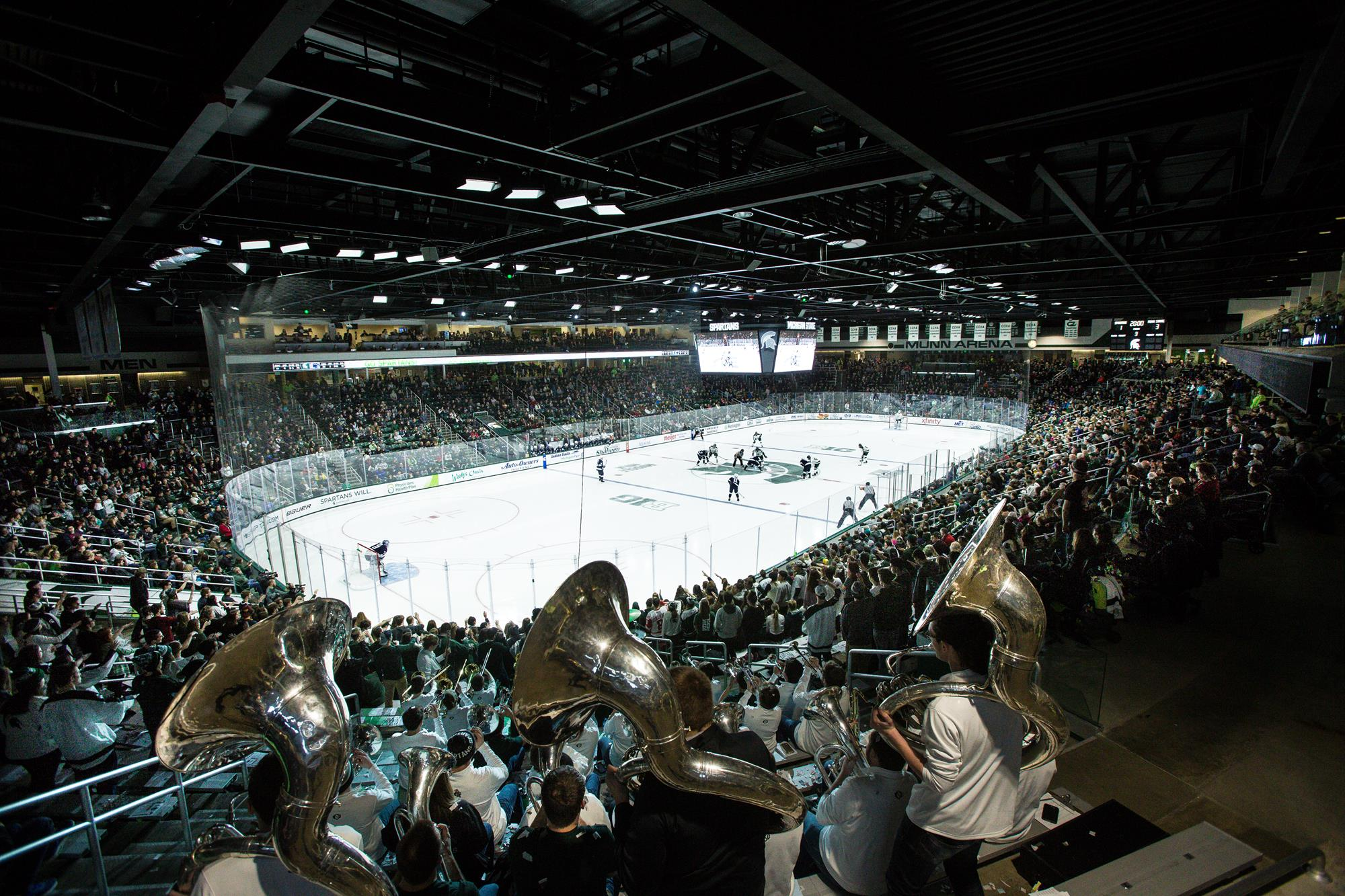 MSU Hockey Welcomes Miami To Munn - Michigan State