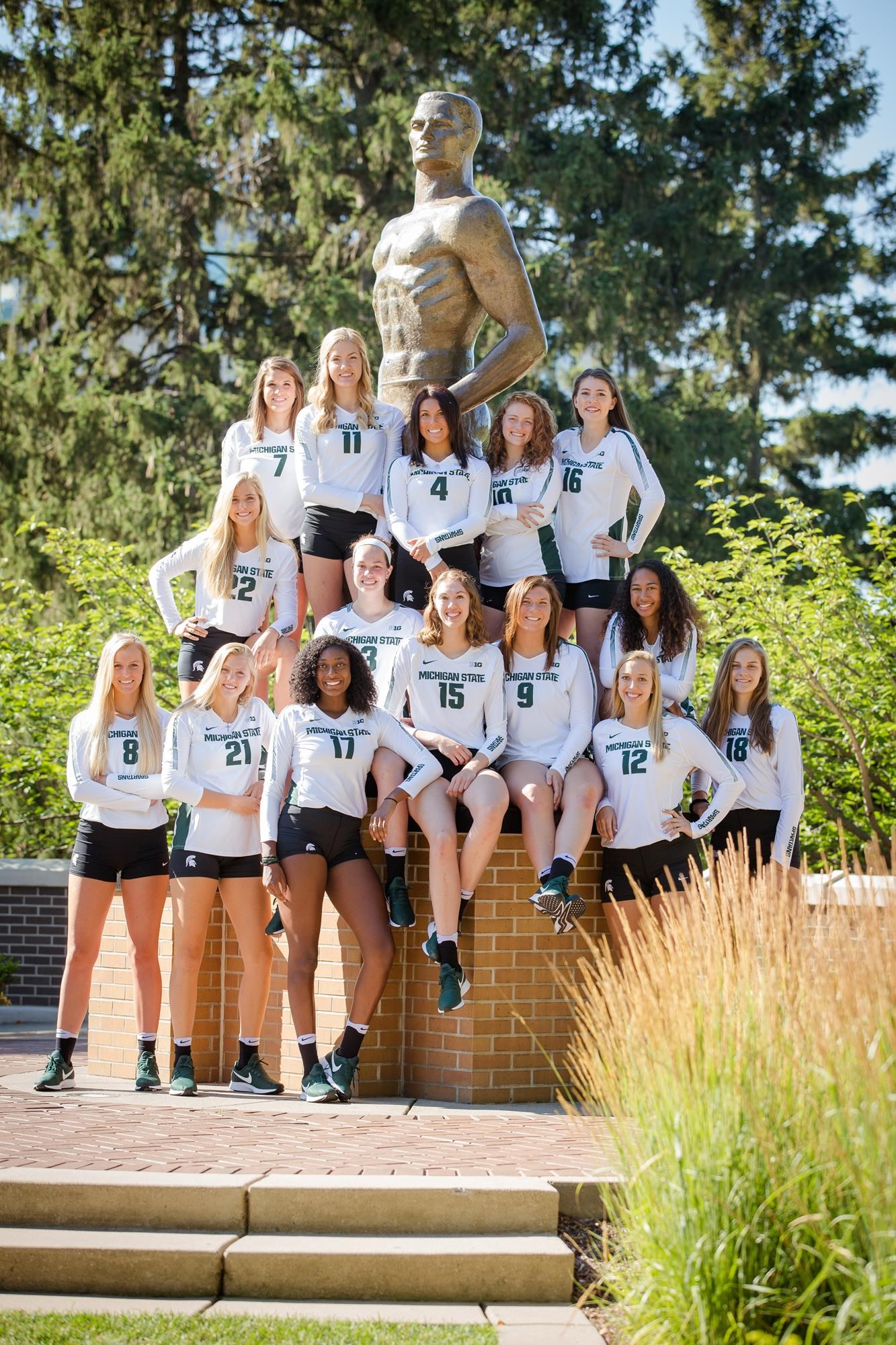 2018 Volleyball Roster Michigan State University Athletics