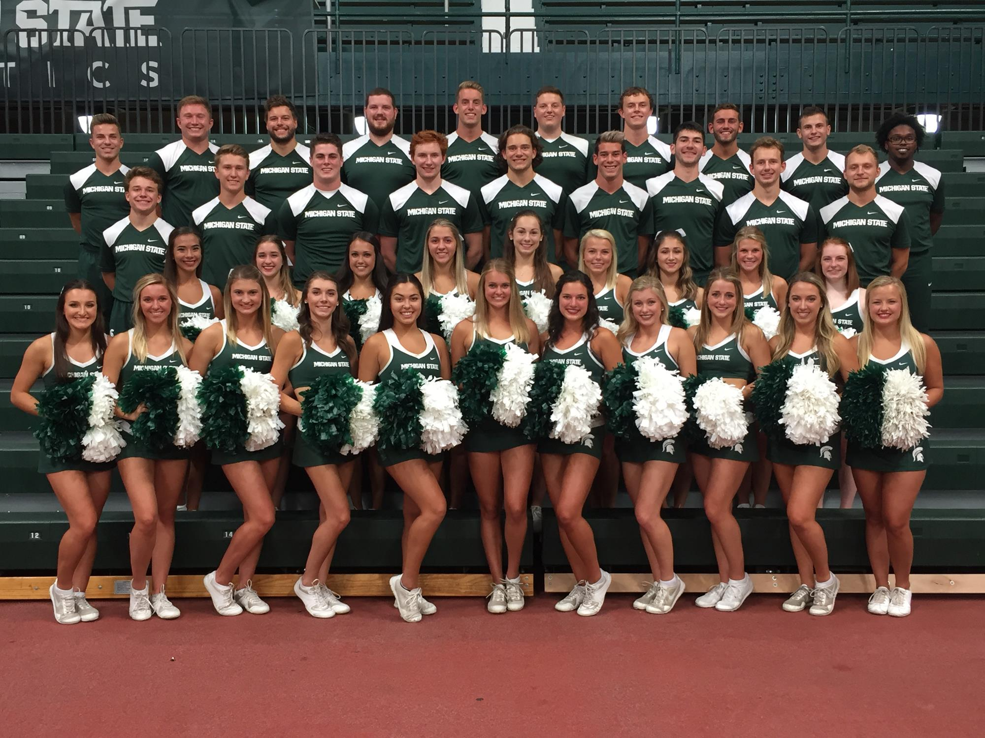 beafef6f36fbd Cheerleading - Michigan State University Athletics
