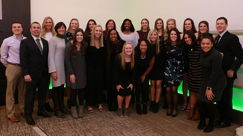 Haggerty Named MVP at Volleyball Annual Banquet - Michigan State University Athletics