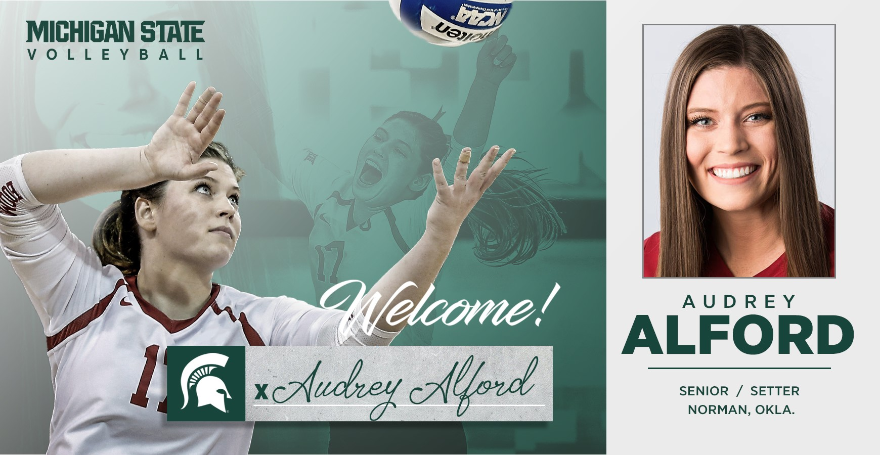 Volleyball Adds Alford For 2019 Season Michigan State University Athletics