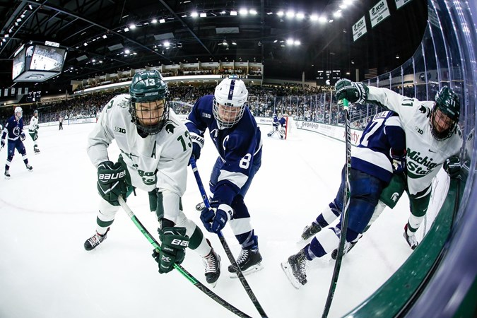 Neil's Notebook: Spartans Run Out of Time in Regular Season Home Finale - Michigan State University Athletics