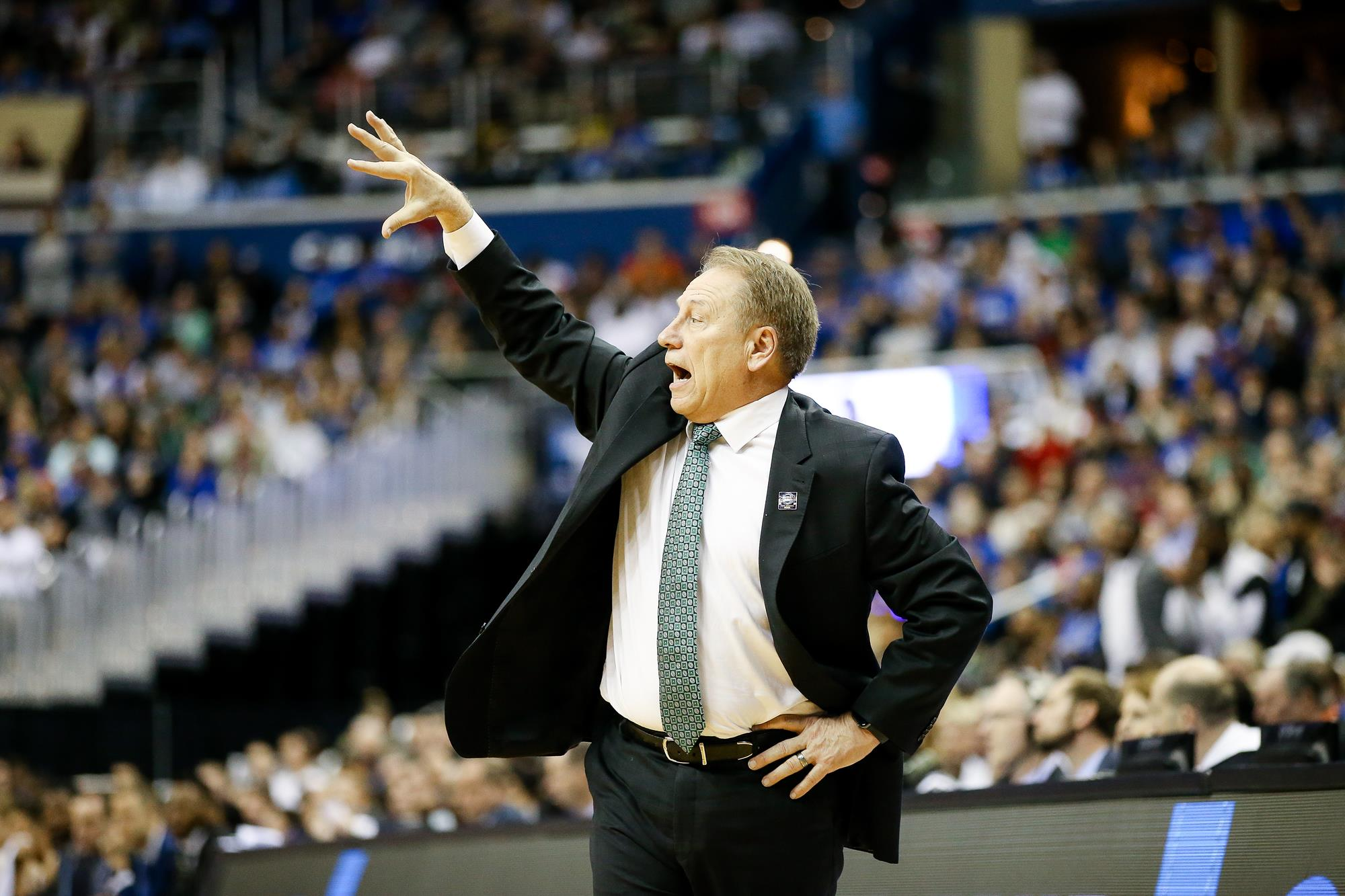 edaebde26bb Tom Izzo Weekly Press Conference Coverage  Final Four Week ...