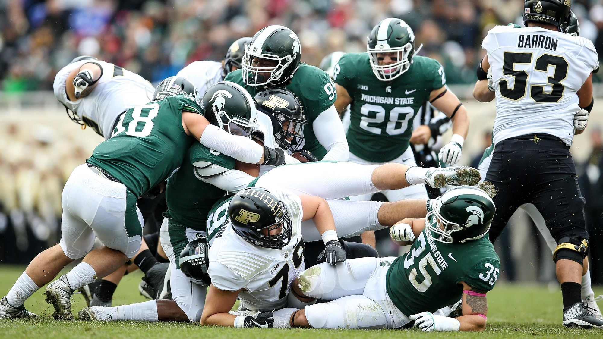Football - Michigan State University Athletics