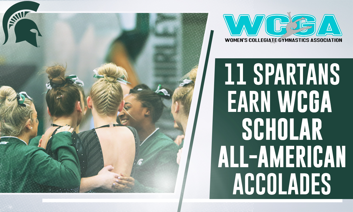 Eleven Michigan State Gymnasts Named WCGA Scholar All-Americans