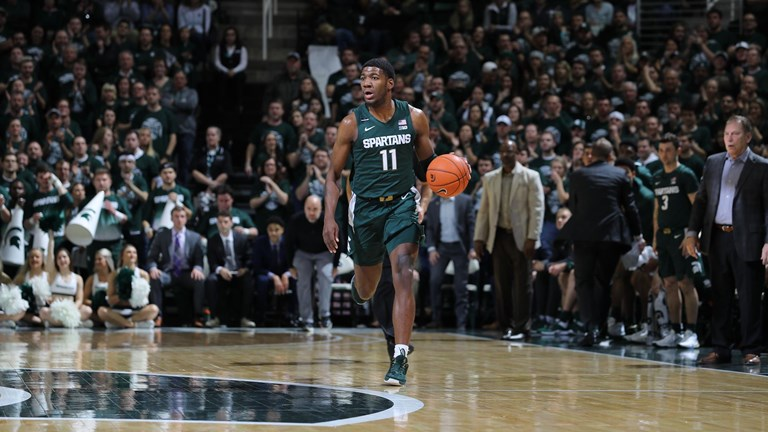 M Basketball Michigan State University Athletics